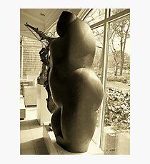 Goddess in profile Photographic Print