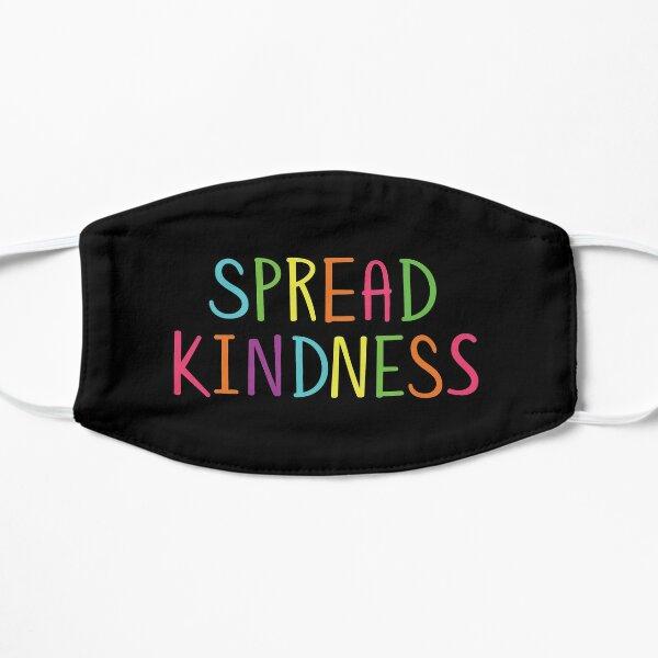 Difundir la bondad Anti Bully Profesor Conciencia del estudiante Mascarilla plana