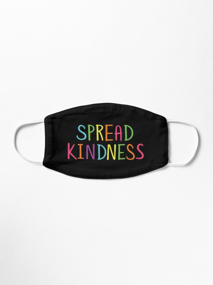 Alternate view of Spread Kindness Anti Bully Teacher Student Awareness Mask