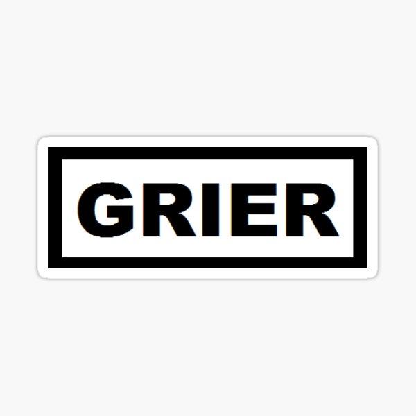 GRIER Sticker