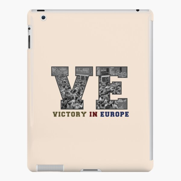 VE DAY Victory in Europe 75th Anniversary 2020 WWII V-E Day Spitfire iPad Snap Case