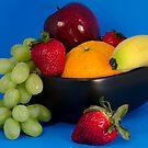 Fruit Bowl by Oil Water Artt