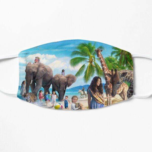 Beach Paradise Flat Mask