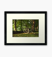 SHADED CANON Framed Print