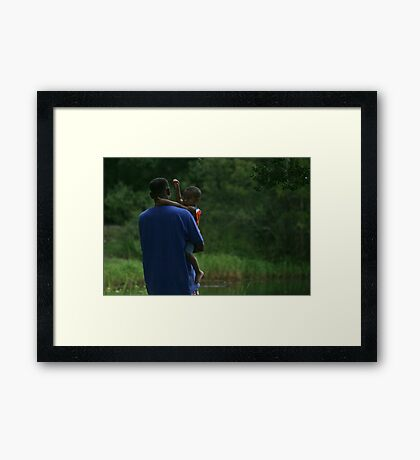 I Trust Thee Framed Print
