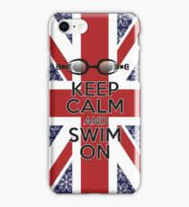 Swim London iPhone Case/Skin
