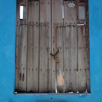Blue Doorway by PointBlankInd