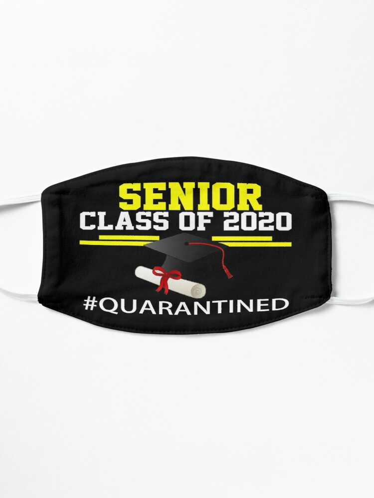 Alternate view of Senior Class Of 2020 Design 2 Mask