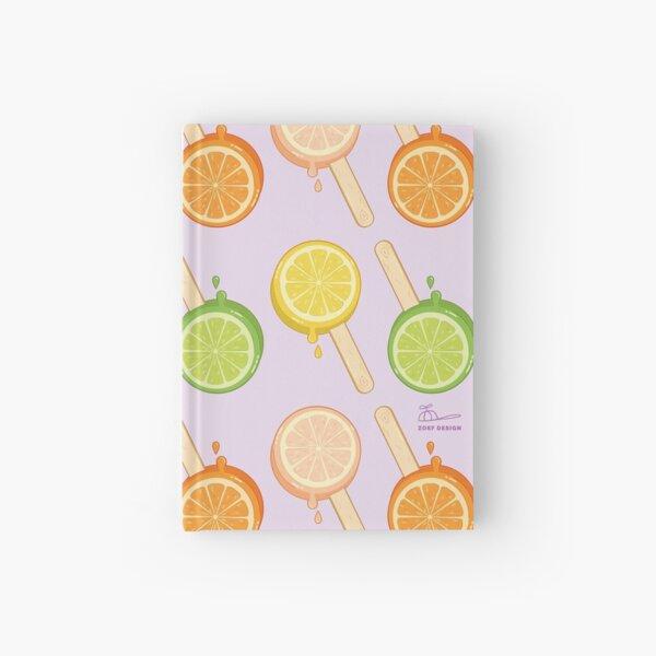summer sweets popsicle - icecream Hardcover Journal