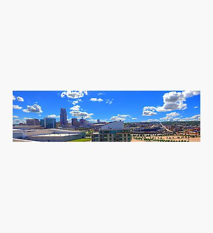 Omaha Skyline  Photographic Print