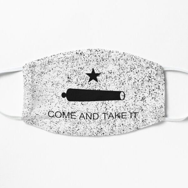 Come and Take It Texas flag face mask 2020, Quarantined Cute Flag Social Distancing Outdoor Gift Flat Mask