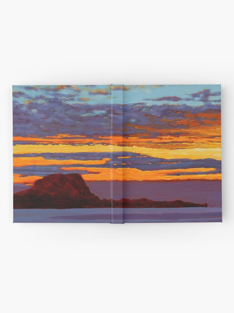 Alternate view of Clare Island Sunset, Clew Bay, County Mayo, Ireland Hardcover Journal