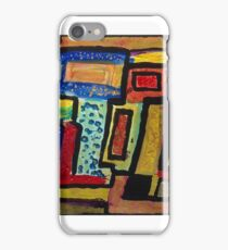 Twice featured work ** . November rain abstract - tribute to Axel Rose and Guns N' Roses . iPhone Case/Skin