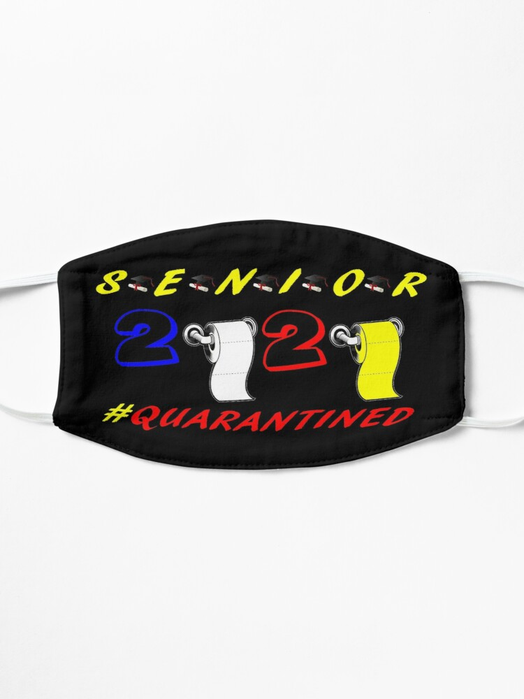 Alternate view of Senior Class Of 2020 Design 3 Mask
