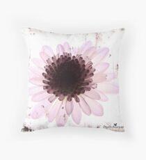 Floral virtue Throw Pillow