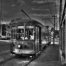 New Orleans Street Car by Benjamin Curtis