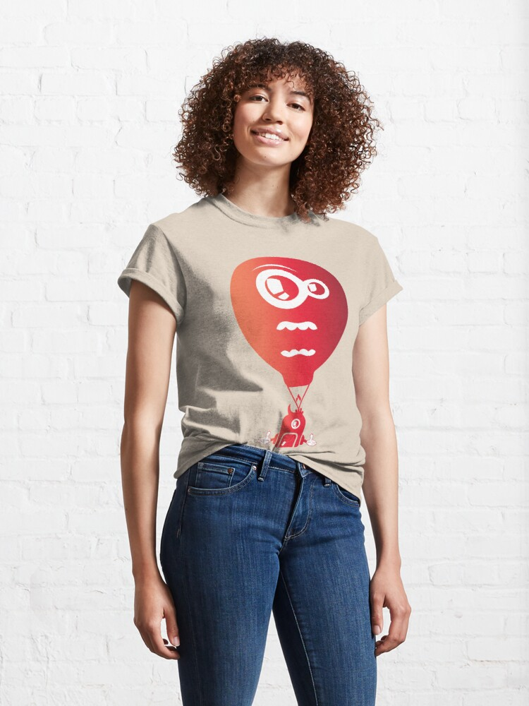 Alternate view of Crazy looking hot air balloon Classic T-Shirt