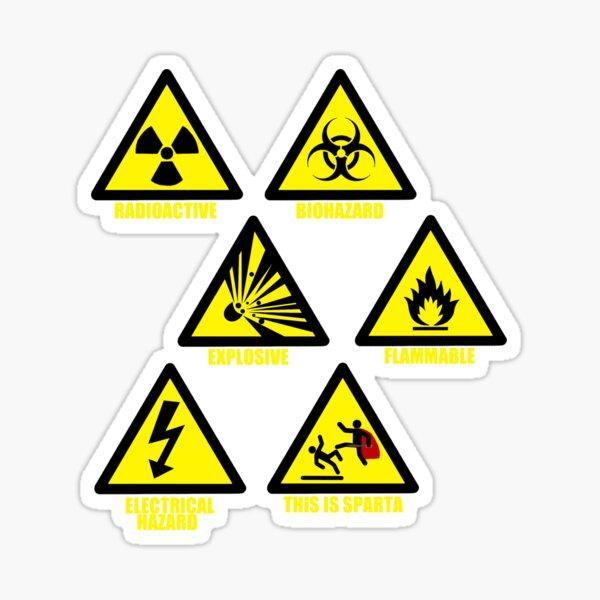 Panneaux de signalisation Sticker