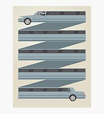 Stretched Out Limo Photographic Print