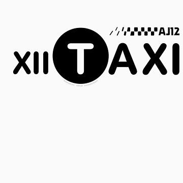 XII Taxi by SneakerSkip