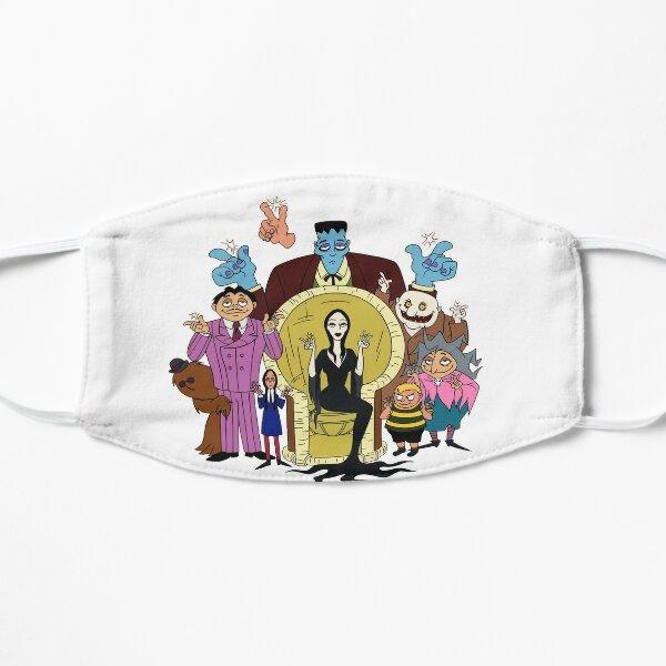 The adams family cartoon HB Flat Mask