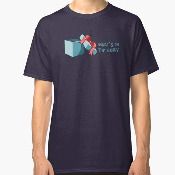 what's in the box? Classic T-Shirt
