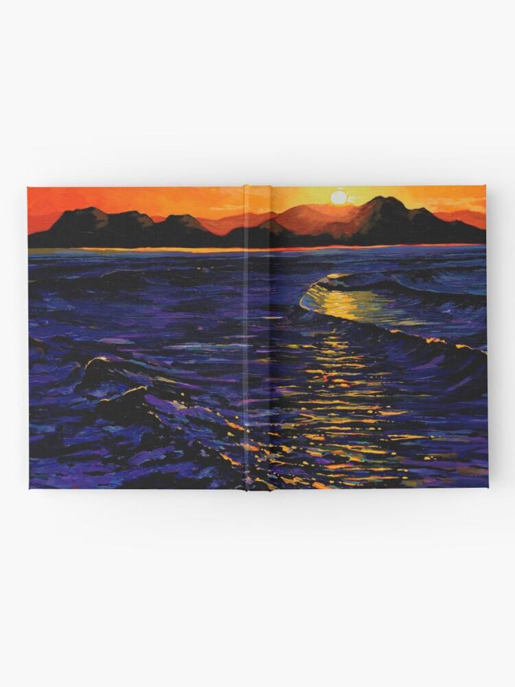 Alternate view of Sunset, Enniscrone (County Sligo, Ireland) Hardcover Journal