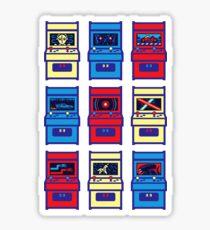 SCI-FI ARCADE Sticker