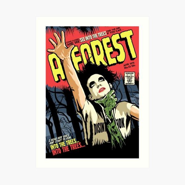 TFTS   Forest Art Print