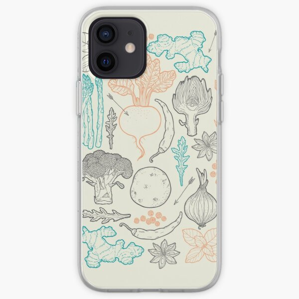 I love vegetables! iPhone Soft Case