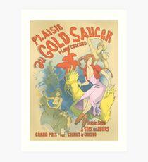 Plaisir au Gold Saucer Art Print