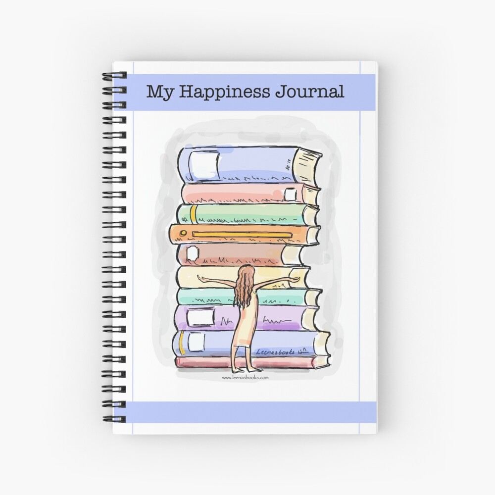 My Happiness Journal / Happy Journals Spiral Notebook