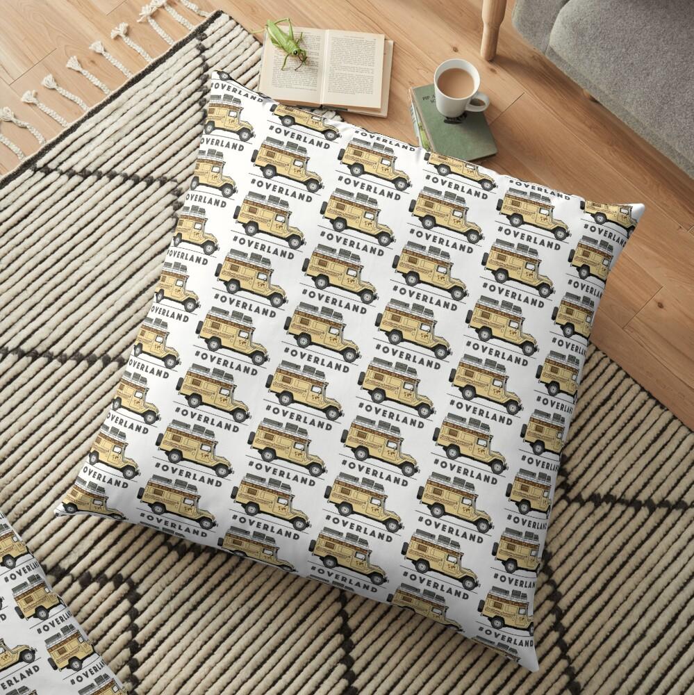 #OVERLAND Floor Pillow