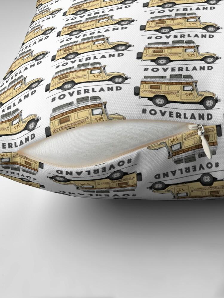 Alternate view of #OVERLAND Floor Pillow