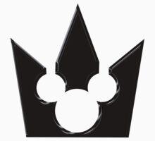 Kingdom Hearts Mickey Crown Poster   Unisex T-Shirt