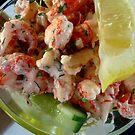 Crayfish Salad in the Sun by BevsDigitalArt