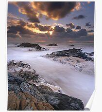 """Edge of the World"" ∞ Arthur River, Tasmania - Australia Poster"
