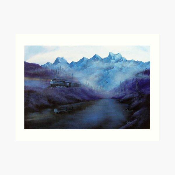 Steam, Smoke and Mist Art Print