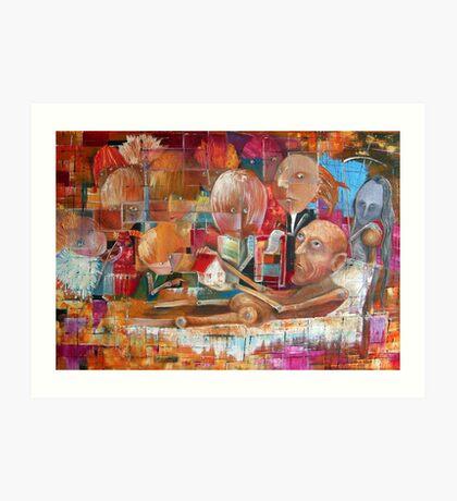 Descendants (Heirs) Art Print