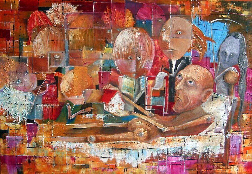 Descendants (Heirs) by Monica Blatton