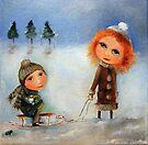 Winter Walk by Monica Blatton
