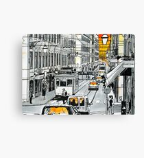 Splash Cities - Lisboa Canvas Print