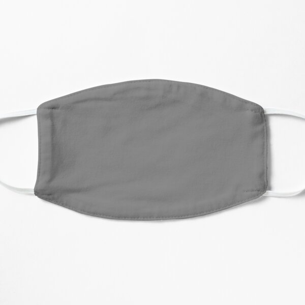 PLAIN SOLID GREY - PLAIN GREY - GRAY  - OVER 100 SHADES OF GREY AND SILVERS ON OZCUSHIONS Mask