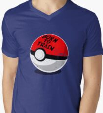 Full Metal Trainer- Pokemon Shirt Men's V-Neck T-Shirt