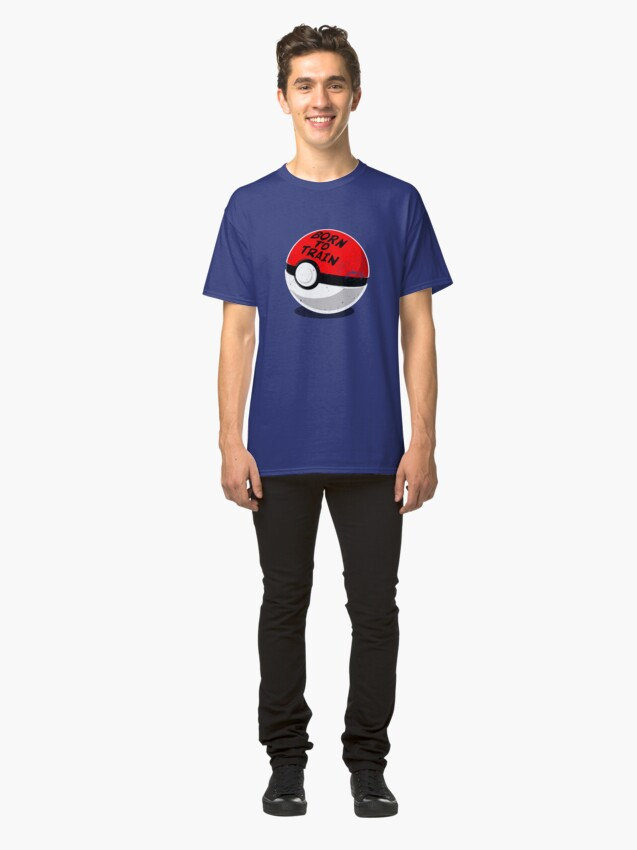 Alternate view of Full Metal Trainer- Pokemon Shirt Classic T-Shirt