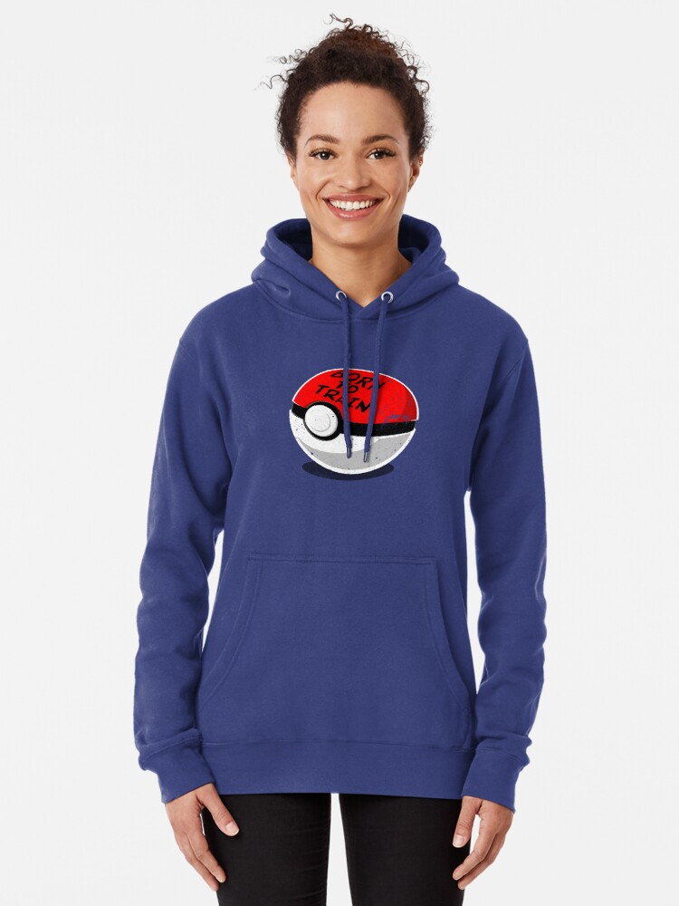 Alternate view of Full Metal Trainer- Pokemon Shirt Pullover Hoodie