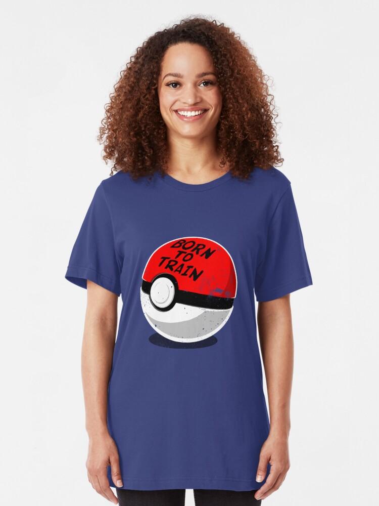 Alternate view of Full Metal Trainer- Pokemon Shirt Slim Fit T-Shirt