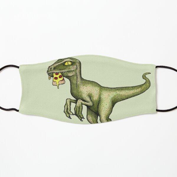 Raptor manger de la pizza Masque enfant