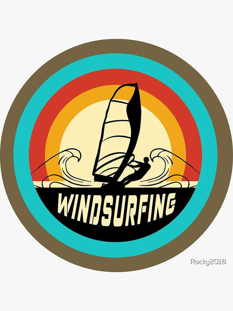 Windsurfing design by Rocky2018