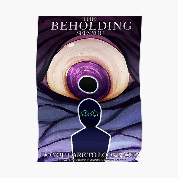 the magnus archives - the beholding recruitment poster  Poster